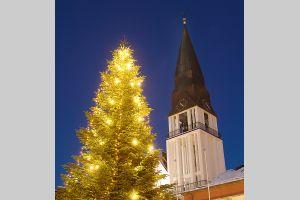 0102 Juletre ved Molde Domkirke